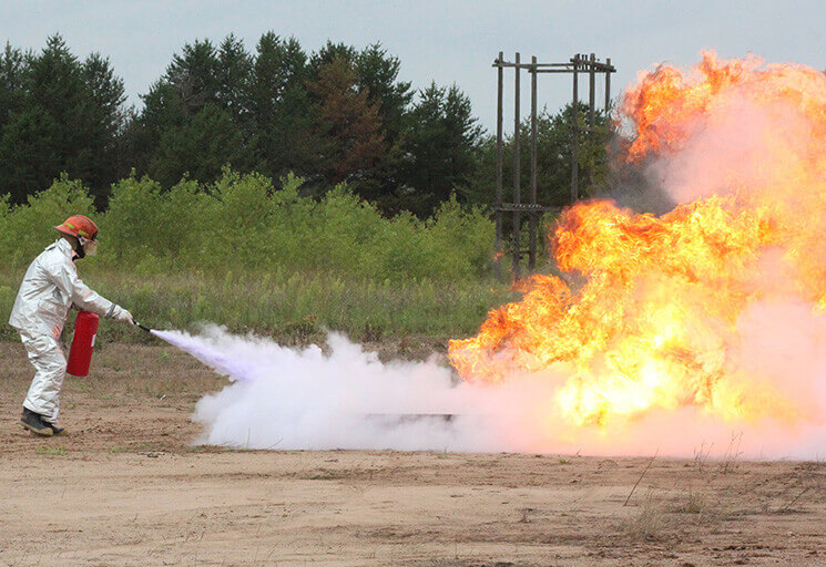Photo of Testing to Begin at New CVTC Outdoor Burn Area