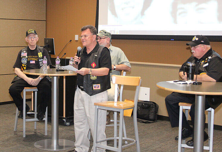 Photo of Vets Bring Reflections of Vietnam to CVTC