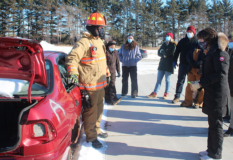 Article Photo - CVTC Class Allows RN's to Work as First Responders