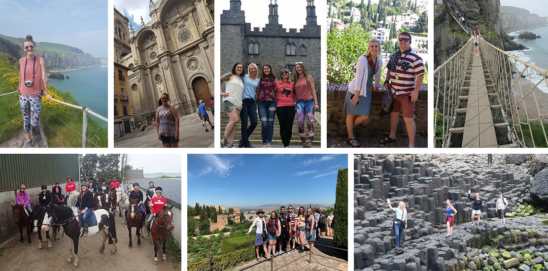 Photos from past study abroad trips